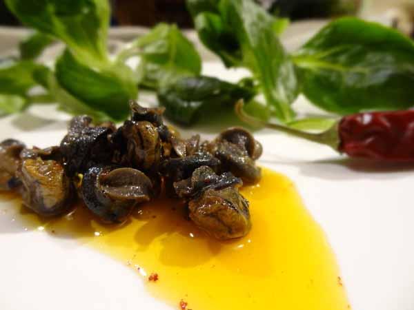 Escargots confits
