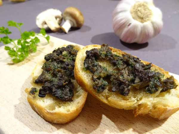 Escargots à tartiner